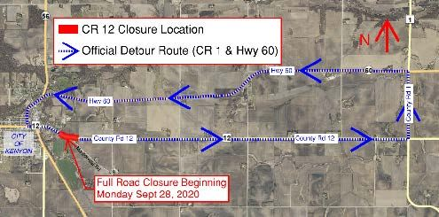 NOTICE_CR 12 Closure 9-28-2020 sml